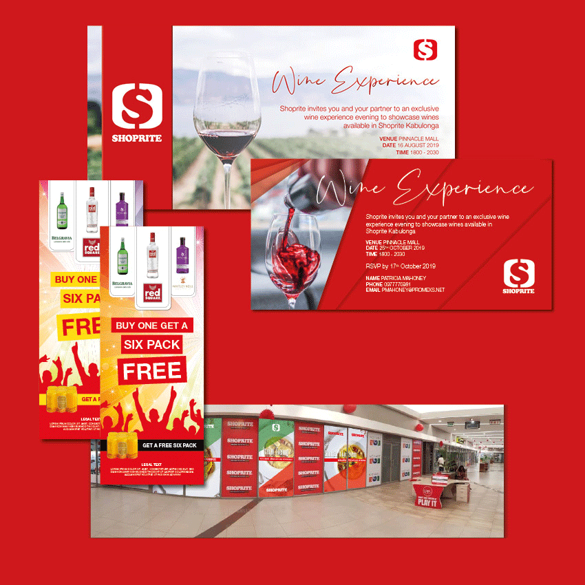 digital marketing and website development for shoprite lusaka zambia